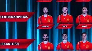 รายชื่อทีมชาติสเปน Archives - bectero.tv