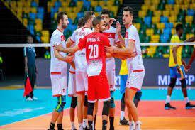 لقاء منتخب مصر لكرة الطائرة أمام تونس في نصف نهائي بطولة أفريقيا -  AlmghribAlarabi