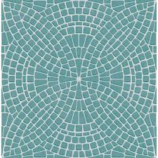 faux kitchen tile wallpaper. ceramica mosaic tile effect wallpaper teal, silver (fd40128) faux kitchen i