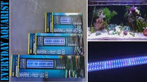 Fluval Sea Marine Reef 3 0 Spectrum Led Light Fixture New Fluval Marine Reef 2 0 Led Light Review And Testing