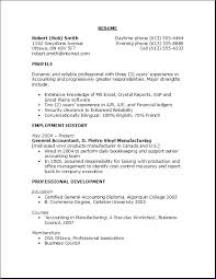 Sample Of Objectives In A Resume
