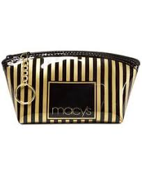 macy s striped makeup bag created for macy s handbags accessories macy s