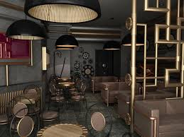 Steampunk Furniture Style Design Modern Home Interiors Steampunk Interior  Design
