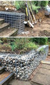 retaining wall ideas diy garden wooden uk