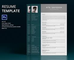 Resume Design Templates 24 Resume Template Designs FreeCreatives 24