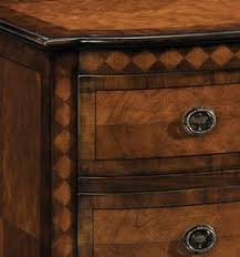 luxury furniture neoclassical chest neoclassical style three drawer chest with walnut veneer and cherry cherry veneer home furniture
