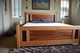 Sears Bed Frames And Headboards California King Craftsman Style ...