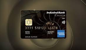 indusind bank celesta credit card is