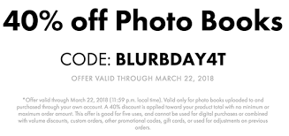 three days only at blurb 40 off photo books with blurbday4t valid 03 18 2018 03 22 2018