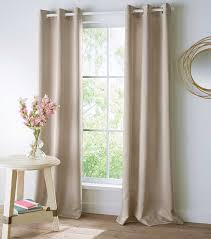 how to hang grommet curtains
