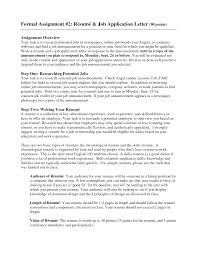 Resume Letter Sample Job Application Sidemcicek Com