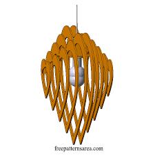 chandelier template 3d laser cutting files 1 2