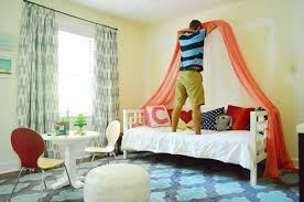 Making A Sweet & Simple Bed Canopy | Young House Love