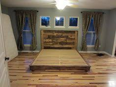 king size pallet bed latest king size platform bed plans with top 25 best rustic ideas on
