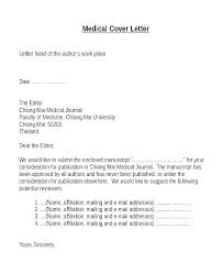 Submit A Cover Letter Cover Letter For Journal Article Submission