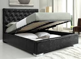 Queen Bed Frame with Storage Full