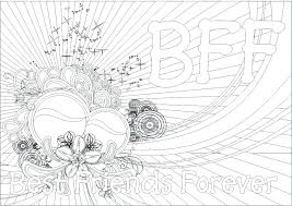 Small Picture marvelous Breathtaking Bff Coloring Pages Online Cool Best Friend