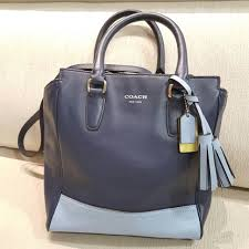 Coach Legacy Mini Tanner Leather Crossbody Small Tote Bag Bicolour, Luxury,  Bags   Wallets on Carousell