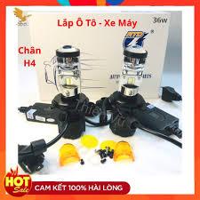 Đèn Pha Led Bi Cầu Ô Tô - Xe Máy Siêu Sáng - Giá 1 Bóng chính hãng