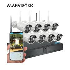 Home camera security system wifi set 1080P IP Camera Wifi DVR Kit CCTV System Video Surveillance Weatherproof