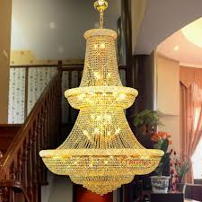 beautiful big chandelier lights vintage large k9 crystal hotel lob french chandelier