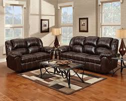 reclining living room furniture sets. Decker Reclining Sofa - Brown Living Room Furniture Sets