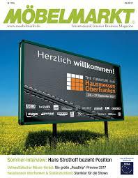 Moebelmarkt 09 2017 by Verlag Matthias Ritthammer GmbH - issuu