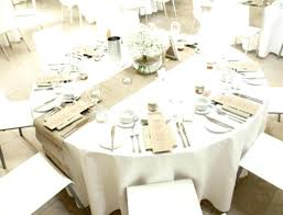 white tablecloth for 60 inch round table impressive table cloth wedding
