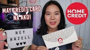 Maybe you would like to learn more about one of these? Credit Card From Home Credit Hey Hazell Youtube