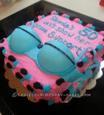 Just For Fun Bra Cake Cakesdessert Ideas 50th Birthday Cake For