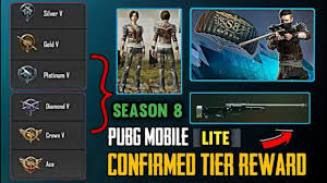 Pubg Mobile Lite Season 8 Rewards