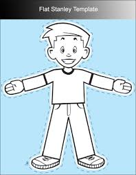 Flat Stanley Printable Printable Flat Stanley Template Best Photos Of Flat Stanley