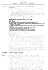 Computer Information Systems Resume Sample Information Systems Security Engineer Resume Samples Velvet Jobs 20
