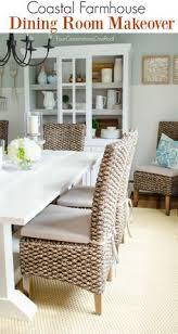dining room makeover coastal