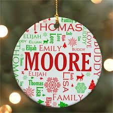 In Loving Memory Ceramic Ornament | Personalized Christmas Ornament
