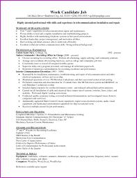 Maintenance Job Resume Objective Best Of Resume Example 100 Electrician Resume Objective Carpenter 78
