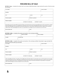 Firearms Bill Of Sale Florida Gun Bill Of Sale Magdalene Project Org