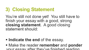 paragraph essay structure brought to you by powerpointpros com  3 closing statement you re still not done yet