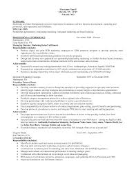 Example Resume Business Development Manager New Business