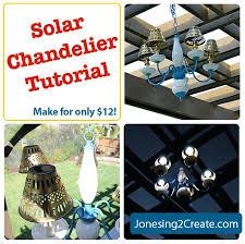 solar light chandelier solar chandelier