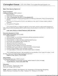 Sample Professional Resume Templates | Nfcnbarroom.com