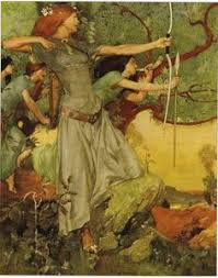 demeter and persephone from the story of by mary macgregor goddess diana lovely