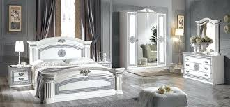 Bedroom: White And Silver Bedroom Furniture