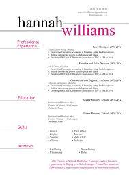 Functional Resume Template Linear Resume Mycvfactory