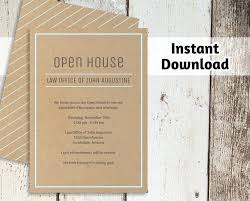 Open House Invite Samples Template Business Event Email Invitation Templates Invite Template