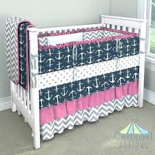baby boy crib bedding whales anchor nursery whale and nautical girl shower themes