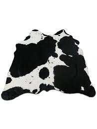 black white cowhide rug size 4 5 x 4 5 black and white cowhide