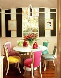 Dining Chairs Corinne Linen Dining Chair Colorful Dining Furniture