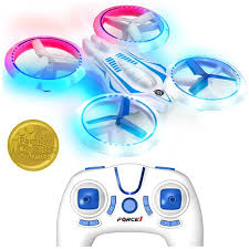 <b>UFO</b> 4000 <b>Mini Drone</b> with LED lights and Extra Battery - Force1RC