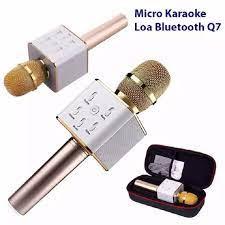 Mic Hát Karaoke Kiêm Loa Bluetooth 3in1 Q7 thế hệ mới - Micro [Hồ Chí Minh]